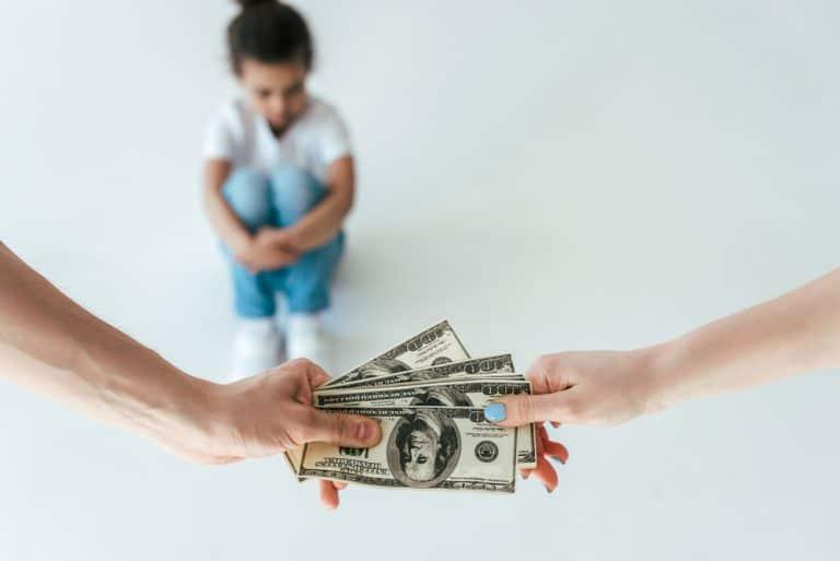 כמה מזונות משלמים עבור ילד אחד?